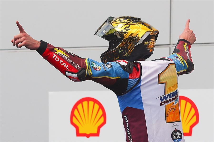 Se definió al nuevo campeón del mundo de Moto2