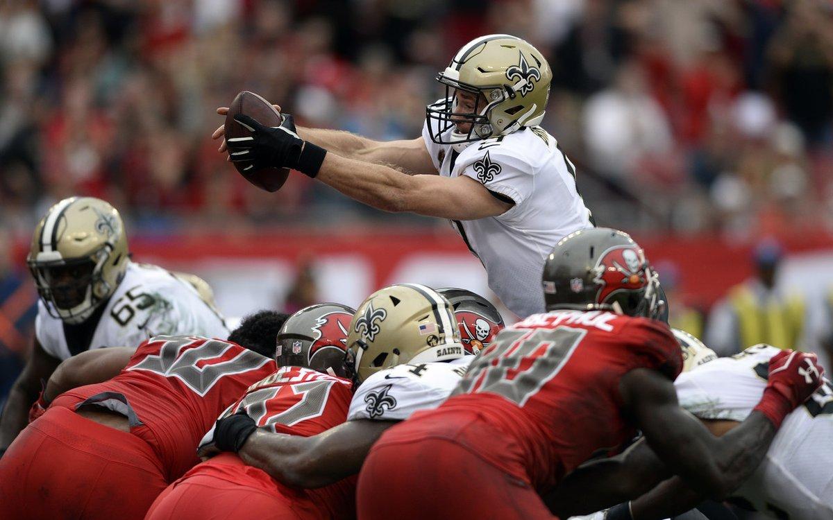 Los Saints (11-2) se convirtieron en el segundo equipo de la liga en conseguir un título de división, luego de que los Rams de Los Ángeles ya habían ganado su grupo