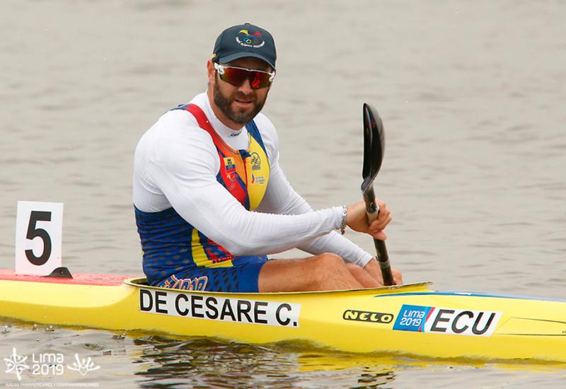 El ecuatoriano fue de los más fuertes de la categoría K1 200 metros