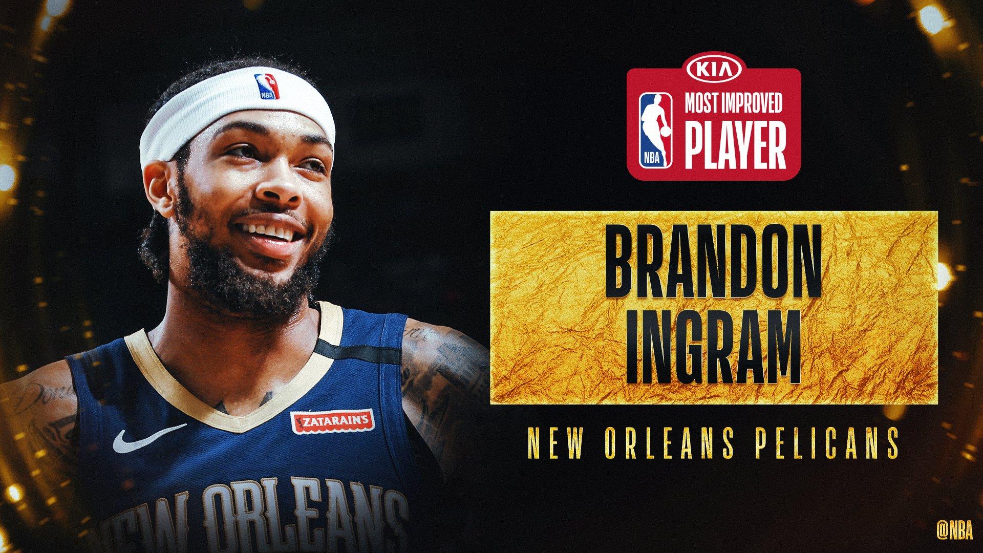 El jugador de los Pelicans se lleva uno de los principales galardones en la temporada