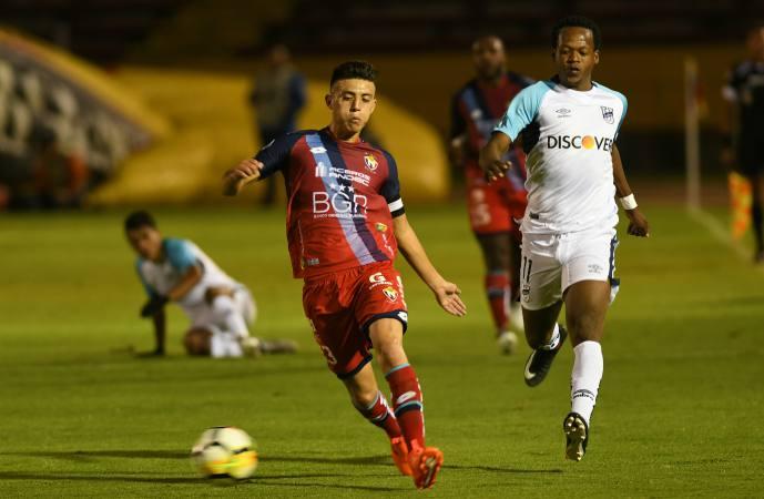 Roberto Garcés, jugador de El Nacional, asegura que darán todo por la recuperación, este viernes en Cuenca