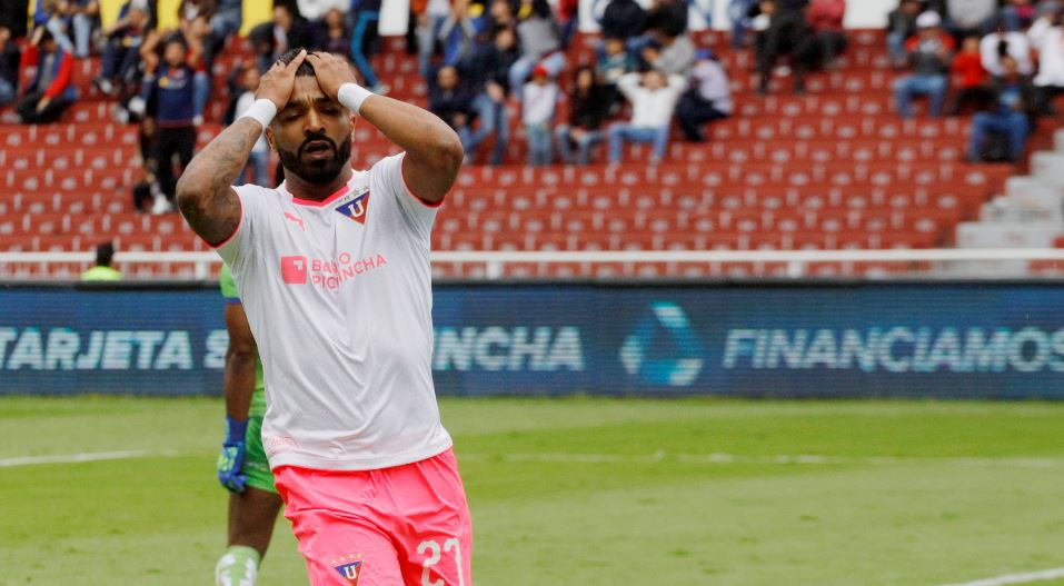 Pablo Repetto explicó las razones que le llevaron a tomar en cuenta a Rodrigo Aguirre en el duelo ante Emelec