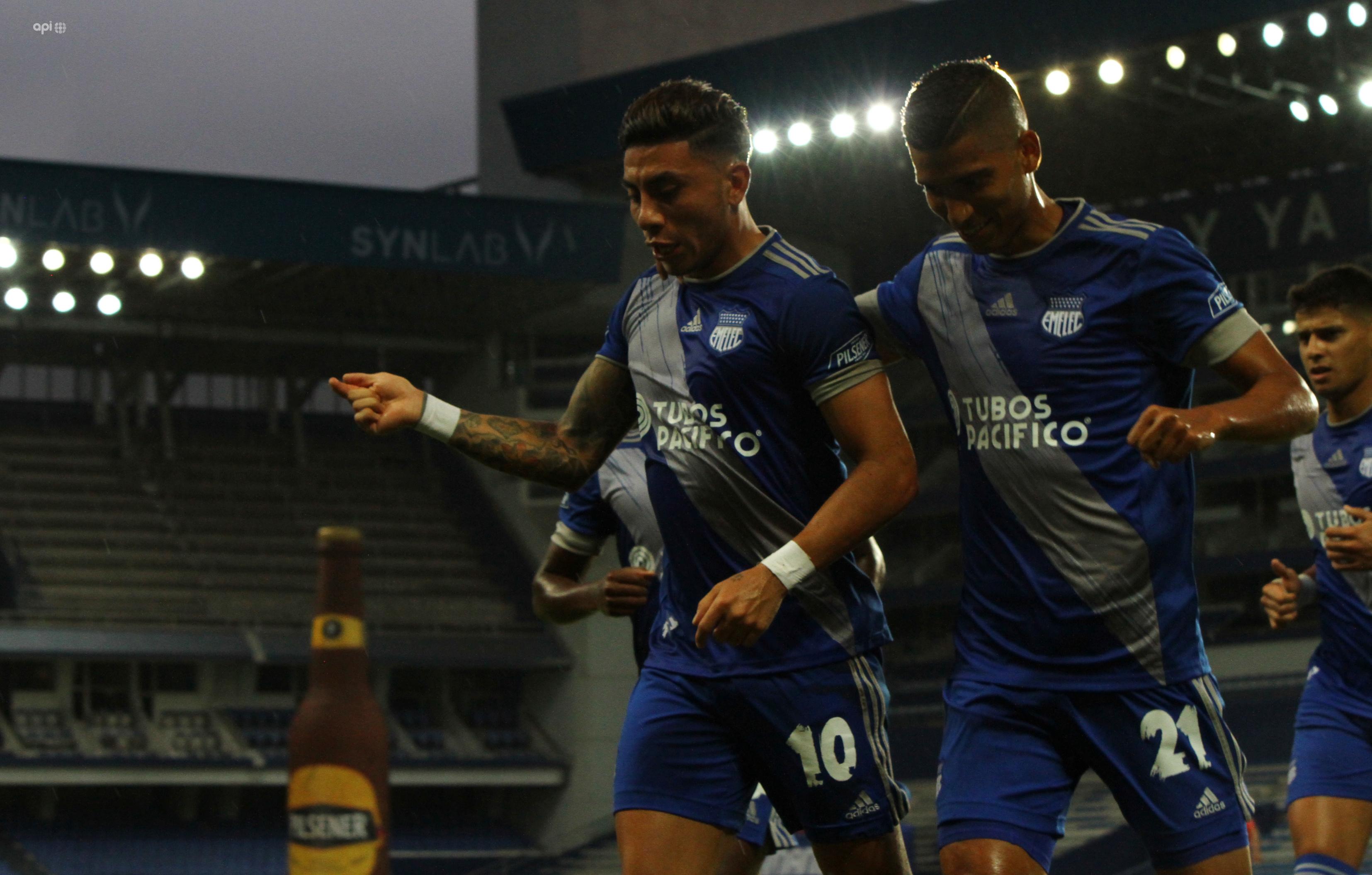 Joao Rojas se mostró ilusionado por su convocatoria y resaltó el trabajo de Emelec ante Deportivo Cuenca