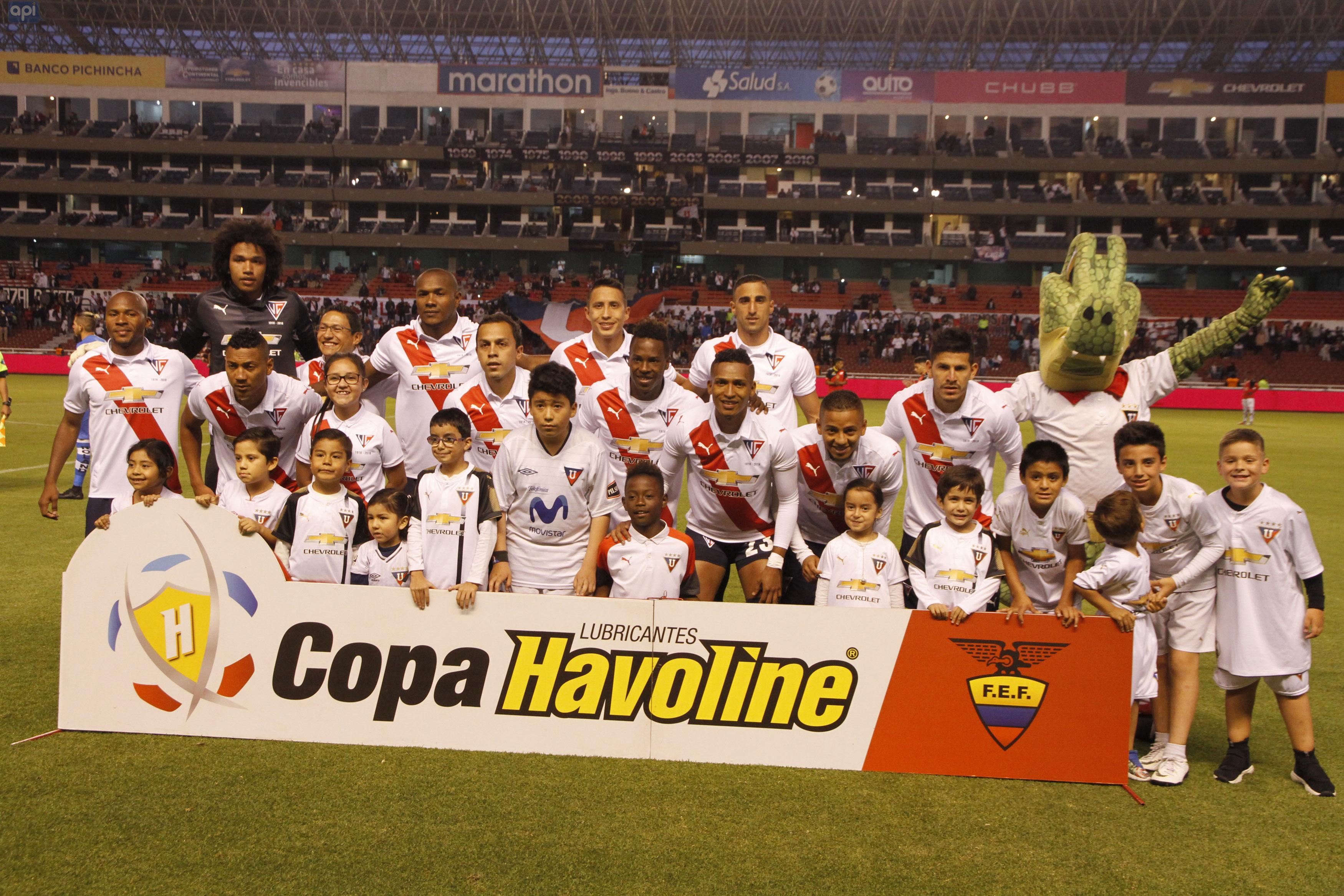 El golero albo analizó la actualidad de Liga, el siguiente duelo ante Independiente del Valle y su admiración a Keylor Navas