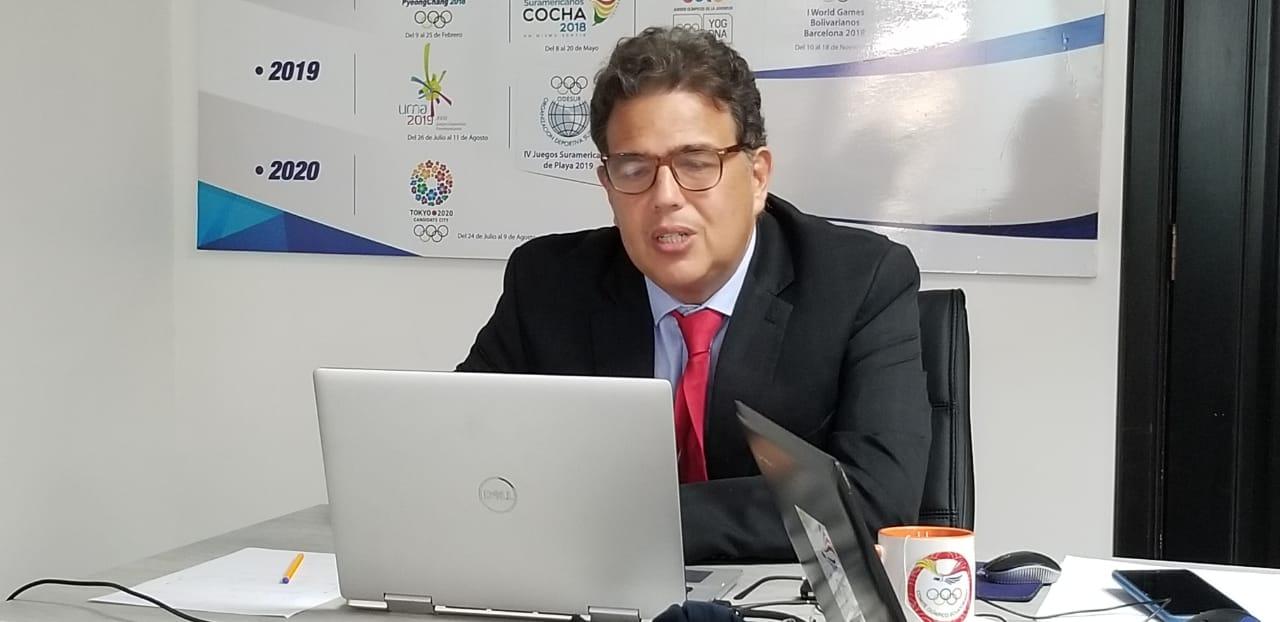 Así lo denunció el Presidente del Comité Olímpico Ecuatoriano
