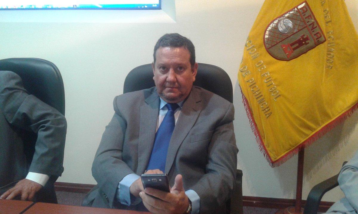 Nicolás Vega, gerente de AFNA, confirmó detalles del polémico torneo ecuatoriano; la primera fase inicia en noviembre