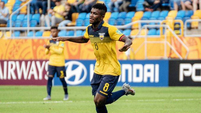El seleccionado ecuatoriano sub 20 será compañero de Diego Palacios