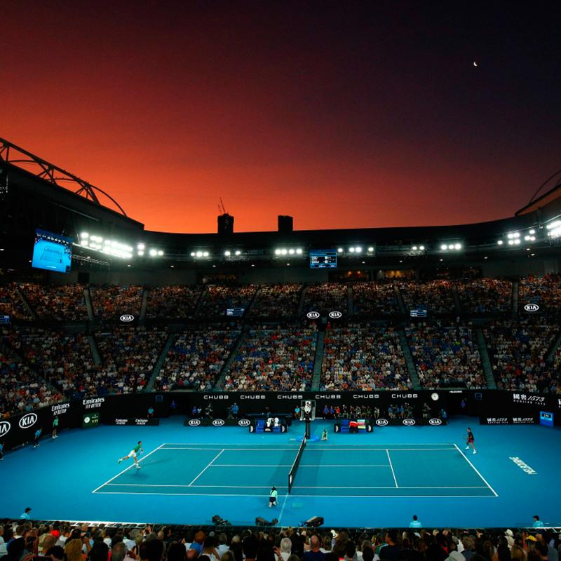 Todo se va preparando para el primer Grand Slam del 2021