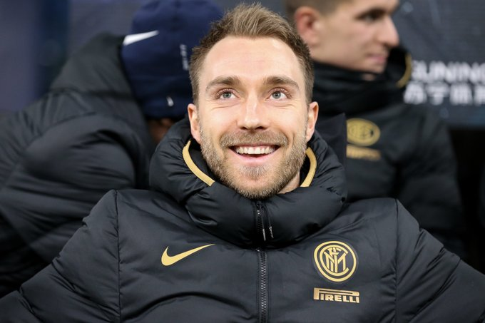 Eriksen, a seis meses de que finalizase su contrato, decidió marcharse al Inter, después de varios meses de especulaciones