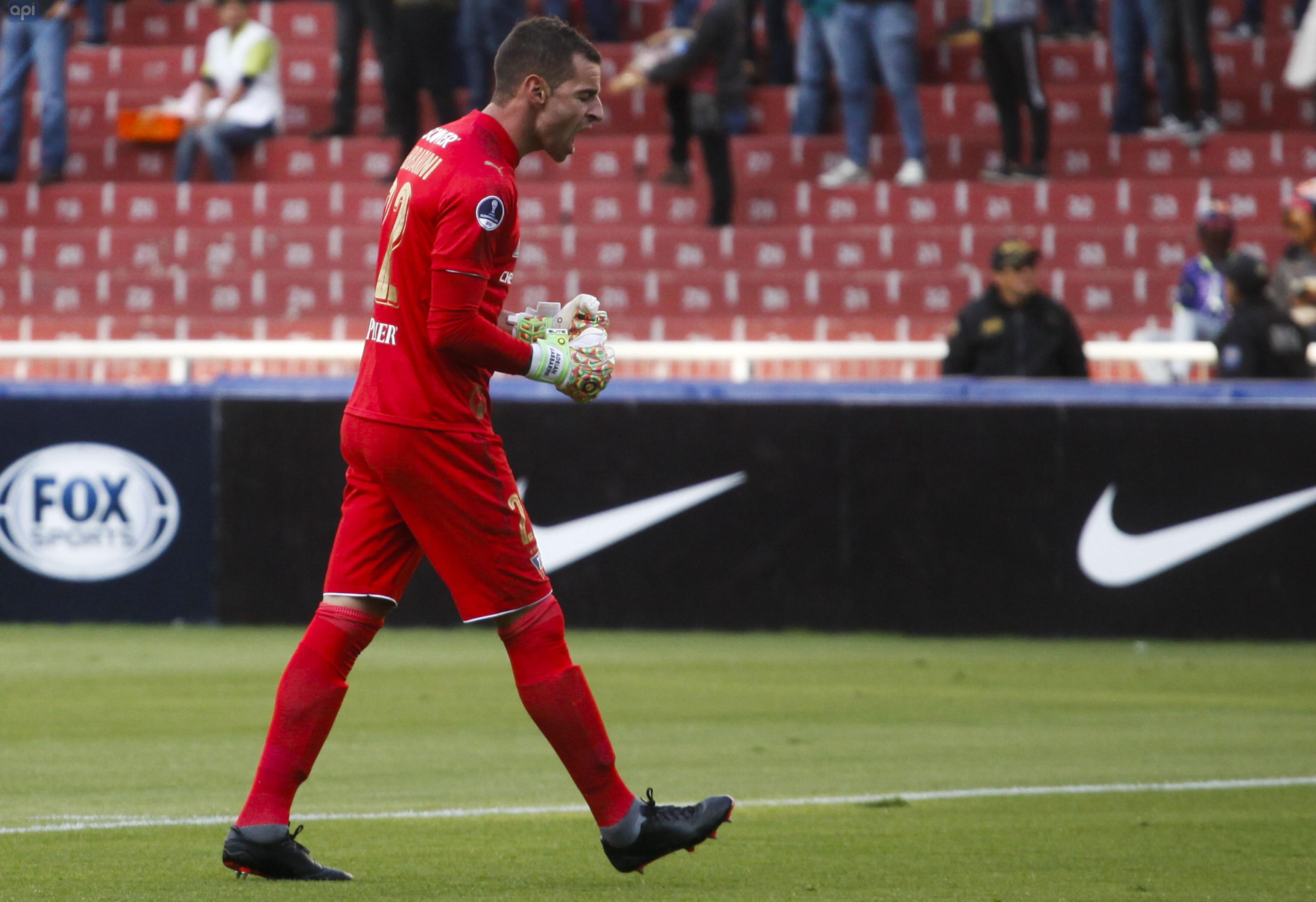 """Adrián Gabbarini está """"en plenitud de condiciones para jugar"""" y estaría este sábado ante Guayaquil City"""