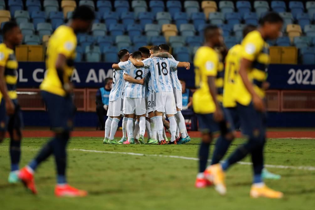 La Tricolor cayó goleada ante Argentina