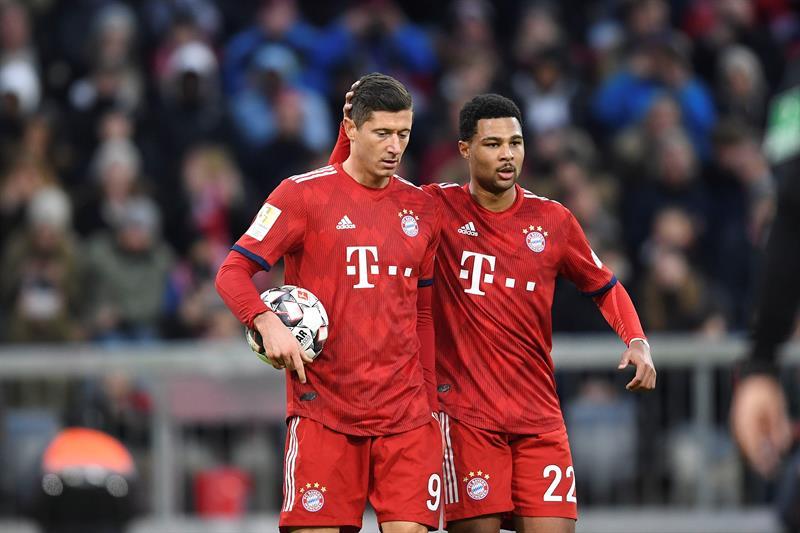 Los dirigidos por Kovac están a seis puntos de la cima de la Bundesliga