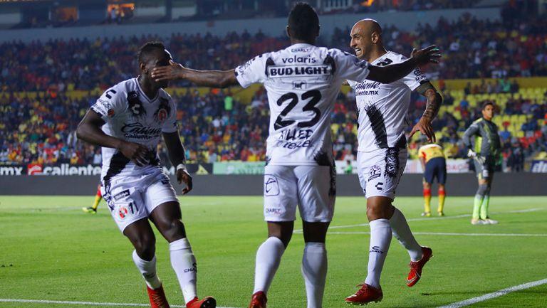 La 'Culebra' actuó todo el partido, Miller dio la habilitación para el tanto de Nahuelpán. Gabriel Achilier fue titular en Morelia
