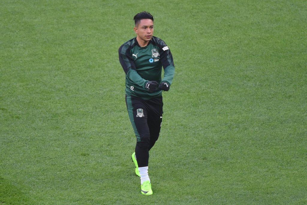 El ecuatoriano Cristhian Ramírez no jugó en la Europa League por lesión