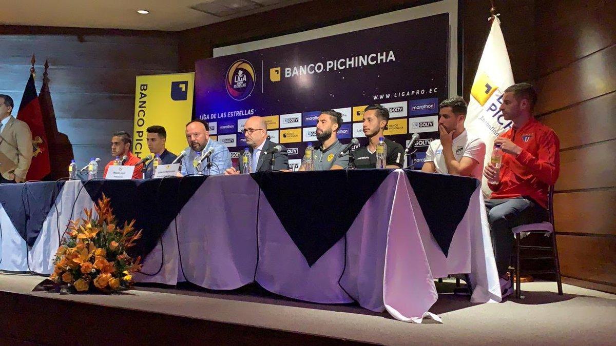 Costa contra Sierra se enfrentarán en el estadio Christian Benítez