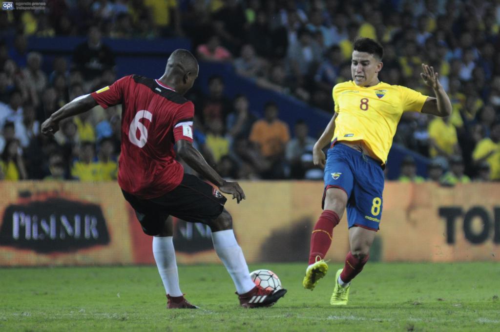 """Fernando Gaibor señaló que """"no ha habido ningún acercamiento"""" de Colo Colo, sin embargo, dijo que analizaría viajar a Chile para ser dirigido por Gustavo Quinteros"""