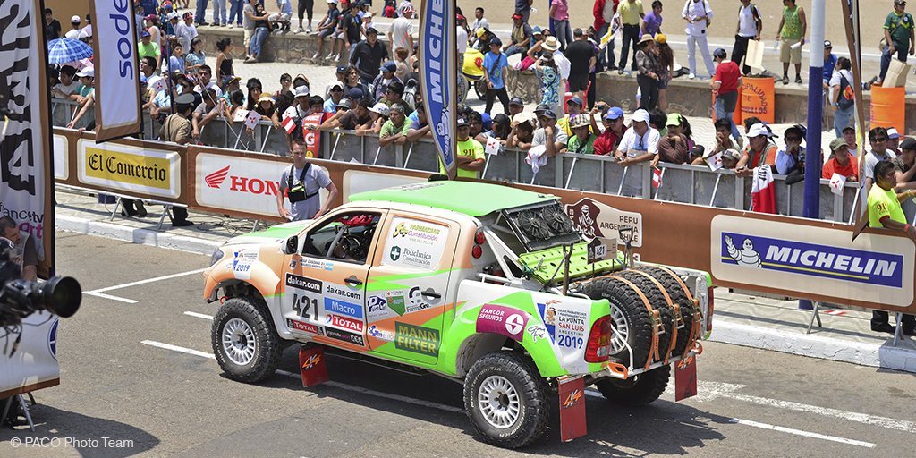 La caravana del Dakar será una Torre de Babel donde se hablarán decenas de idiomas diferentes