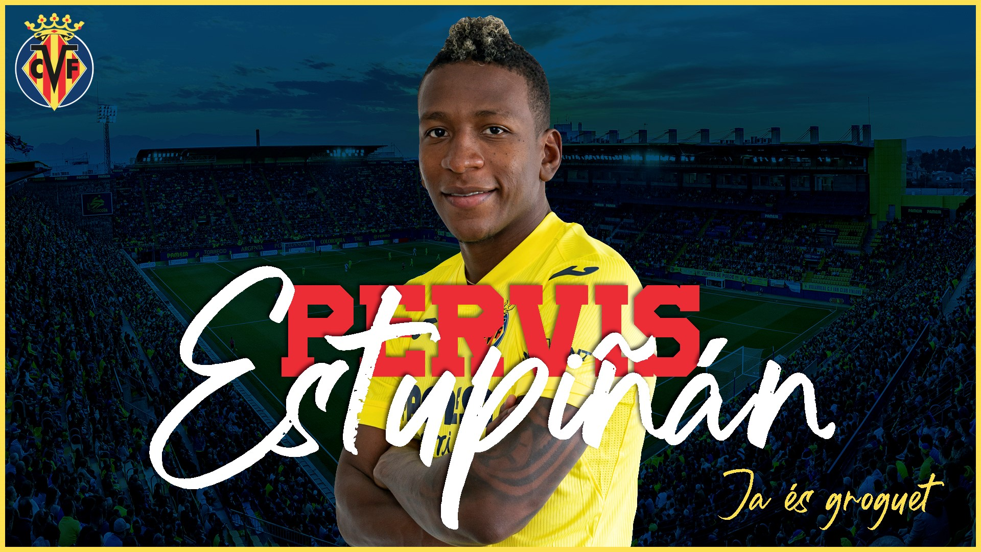 El defensor ecuatoriano firmó por siete temporadas