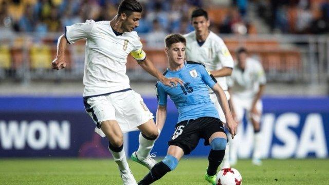 El volante de la Sub 23 de Uruguay se refirió al posible interés de Liga de Quito