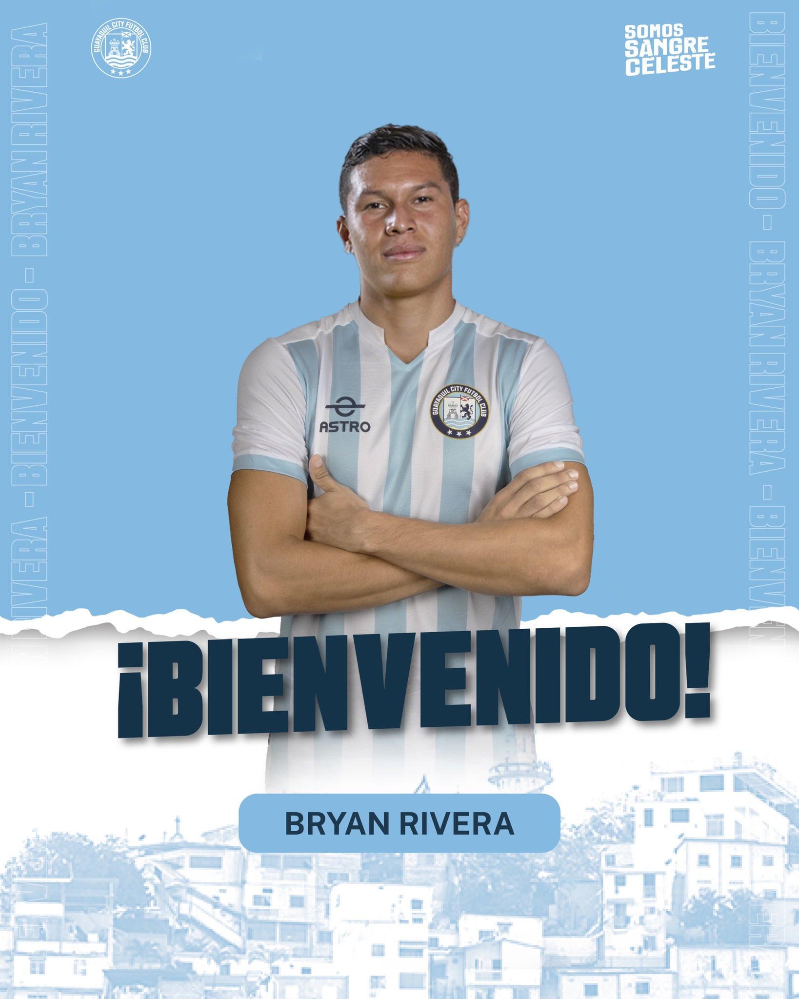 Pool Gavilánez destacó la incorporación de Bryan Rivera, quien llega a Guayaquil City tras un paso sin relevancia por Barcelona