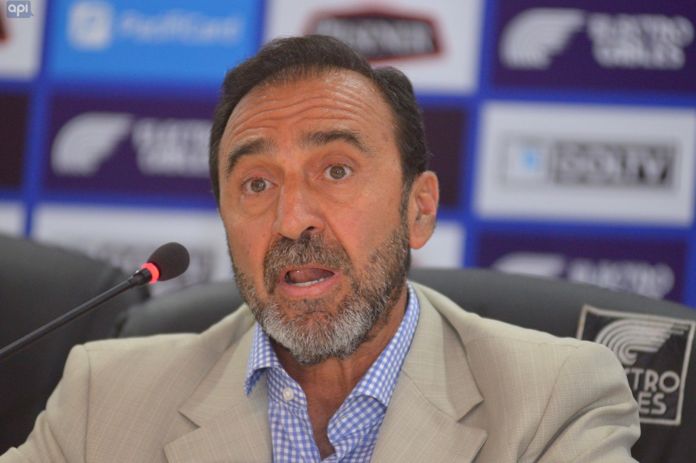 Nassib Neme explicó por qué clubes decidieron no suspender partidos por no presentar roles de pago