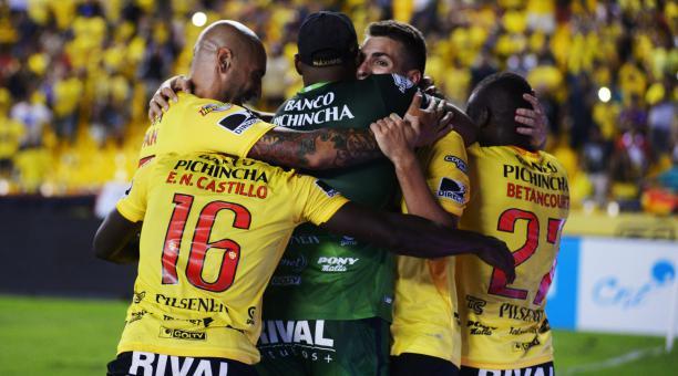 """""""Cómodo no, tranquilo sí"""", fue la declaración de Jonathan Betancourt al referirse a su situación en Barcelona SC"""