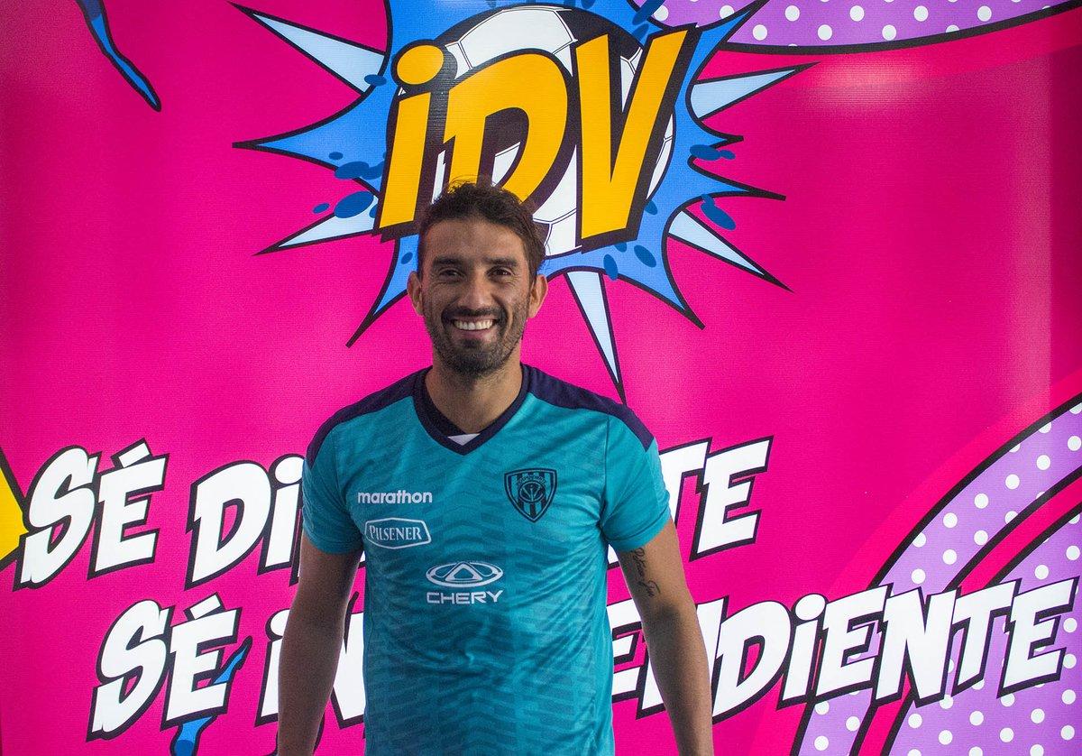 El delantero argentino es el cuarto refuerzo que suma al proyecto de Independiente del Valle para esta temporada