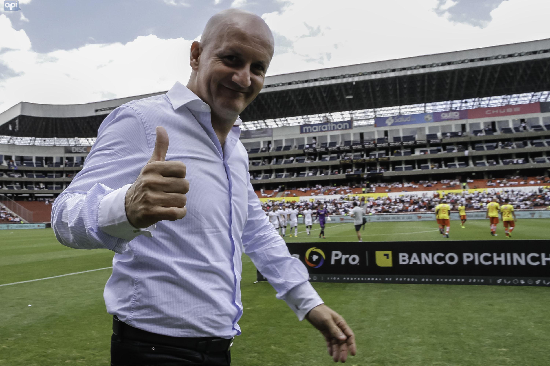 Pablo Repetto confía en que la plantilla alba salga del mal momento tanto en la LigaPro como en Copa Libertadores