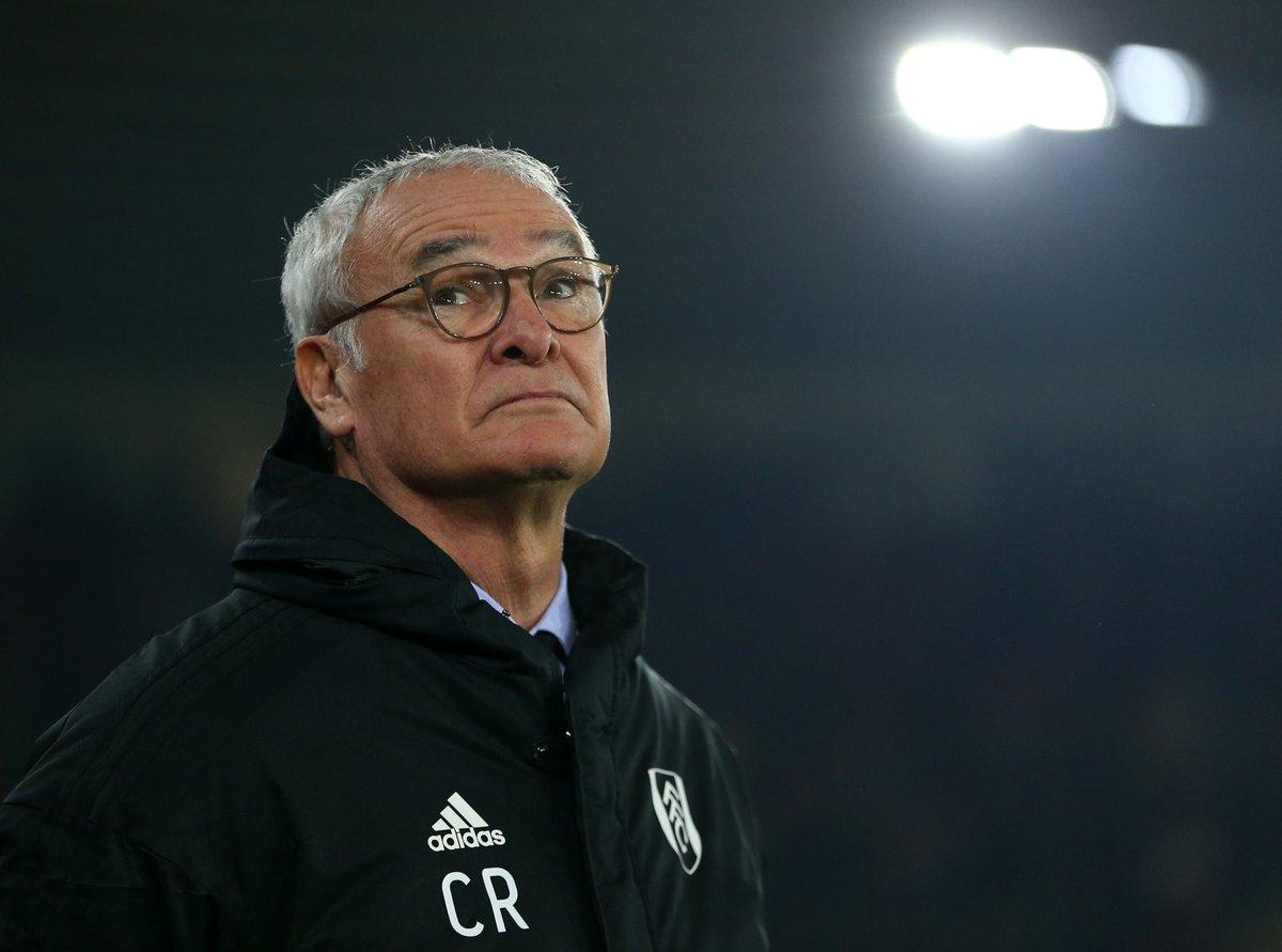 La llegada del técnico italiano, campeón de la liga en la campaña 2015/2016 con el Leicester City, no ha mejorado la situación y el Fulham es penúltimo en la tabla a diez puntos de la salvación