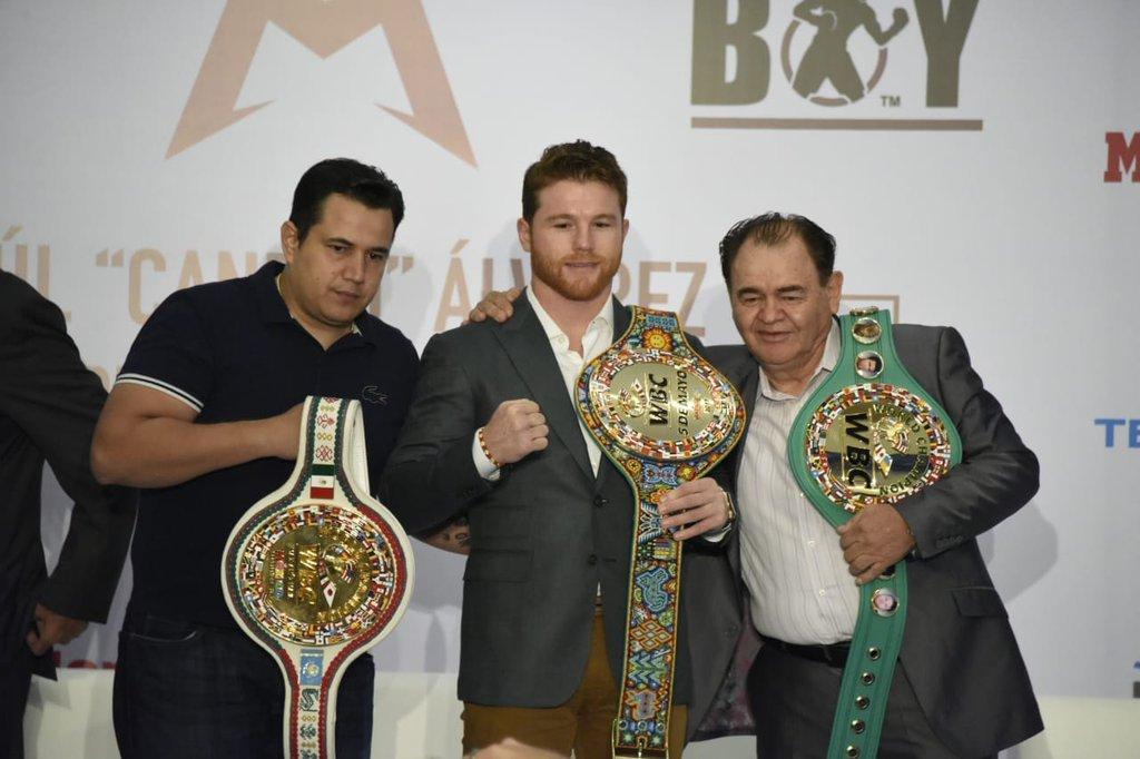 El boxeador recibió el Premio Nacional del Deporte 2018