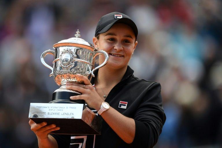 La australiana Ashleigh Barty ganó el Roland Garros y supera por 130 a la japonesa