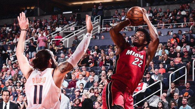 Butler reivindicó su condición de jugador franquicia y con 34 puntos, cinco rebotes y cuatro asistencias lideró el ataque ganador de los Heat de Miami