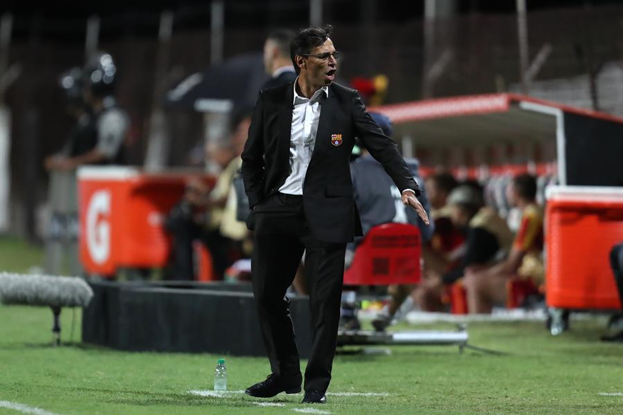 Miguel Ángel Loor se refirió a las declaraciones de Bustos y la sanción que pide Liga de Quito
