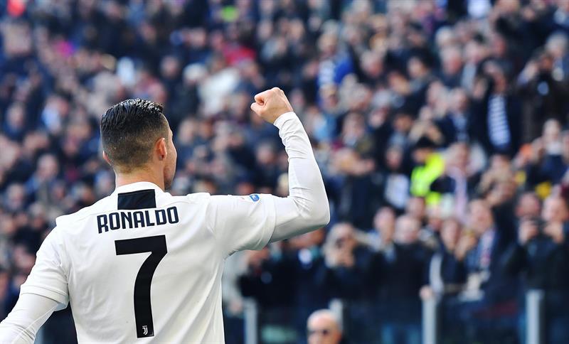 El portugués lleva catorce goles y cinco asistencias en 19 partidos ligueros del Juventus que cumple el mejor arranque de la historia
