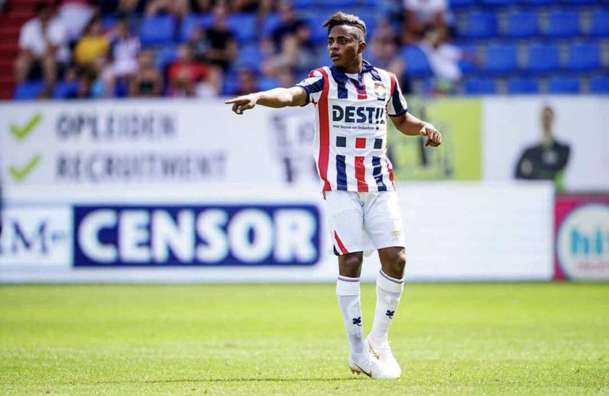 El lateral izquierdo fue titular en la última fecha de la Eredivisie y mañana se une a la selección sub 20