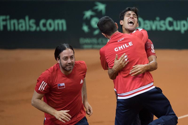 Los sudamericanos accedieron a la fase final de la Copa Davis