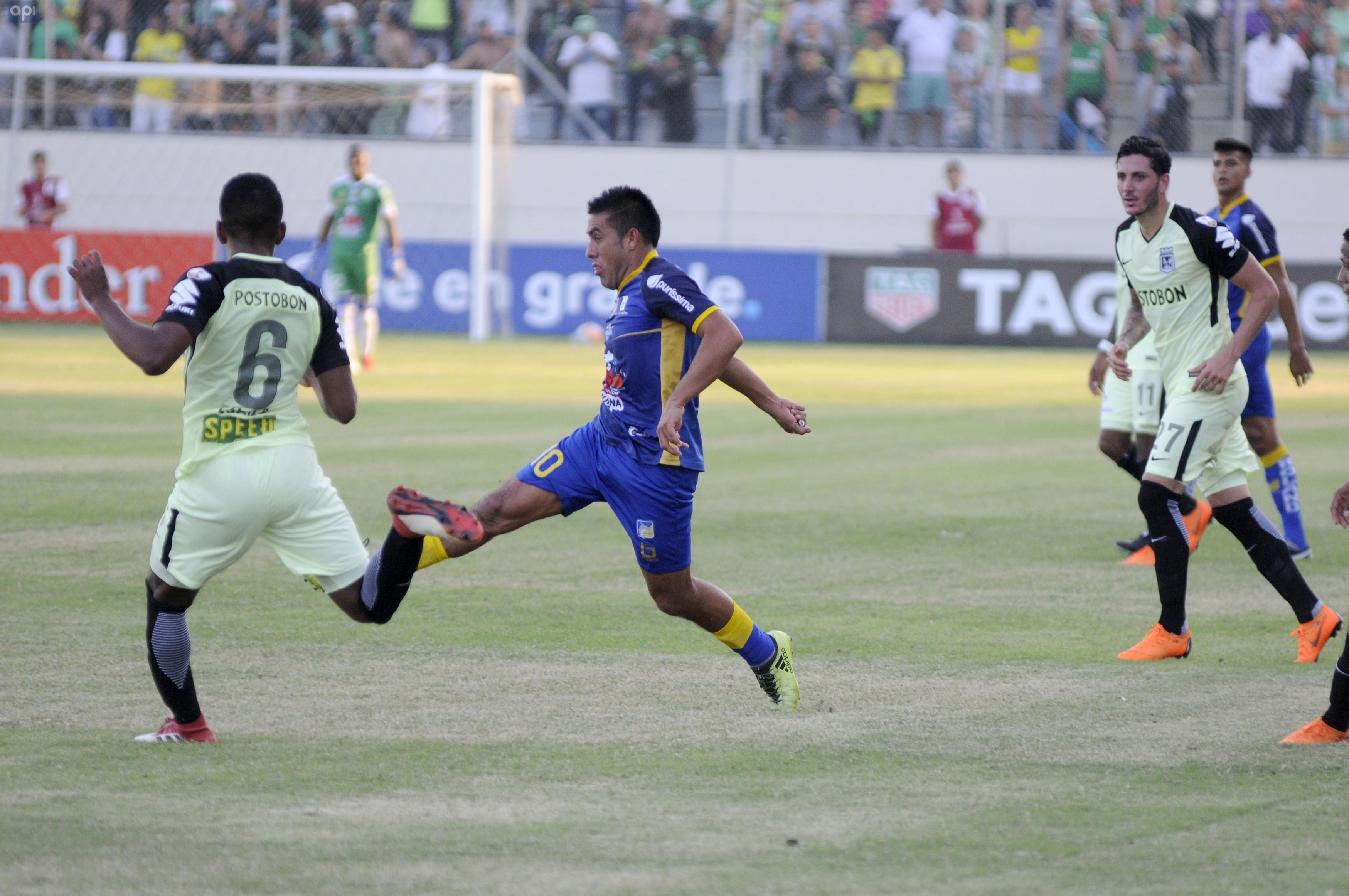 Andrés Chicaiza valoró el triunfo del Delfín y confía en dar la sorpresa en Bolivia en el cierre de la fase de grupos de la Libertadores