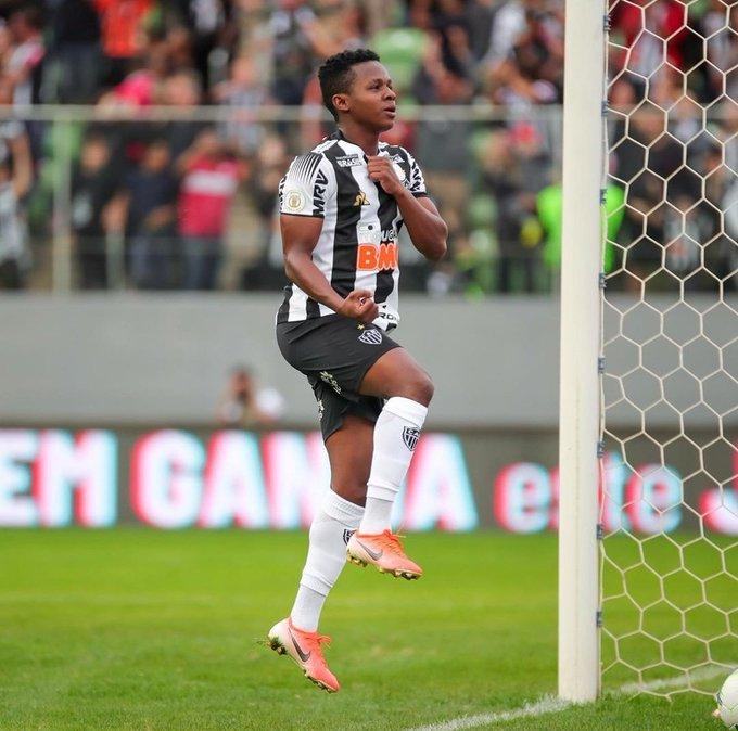 El ecuatoriano sumó 60 minutos y un gol en el 2x1 del Atlético Mineiro, en la decimocuarta jornada del Brasileirao