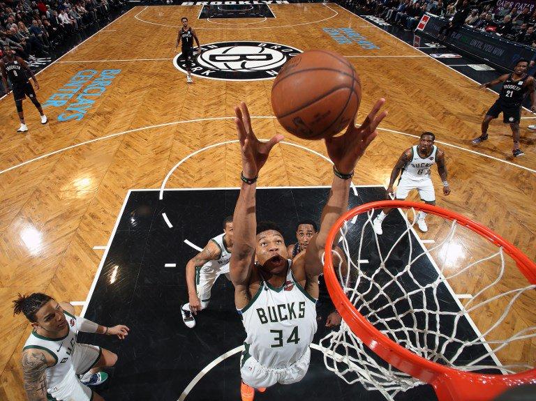 El ala-pívot griego Giannis Antetokounmpo anotó 43 puntos como líder encestador de los Bucks, que ganaron por 148-129 a los Wizards de Washington