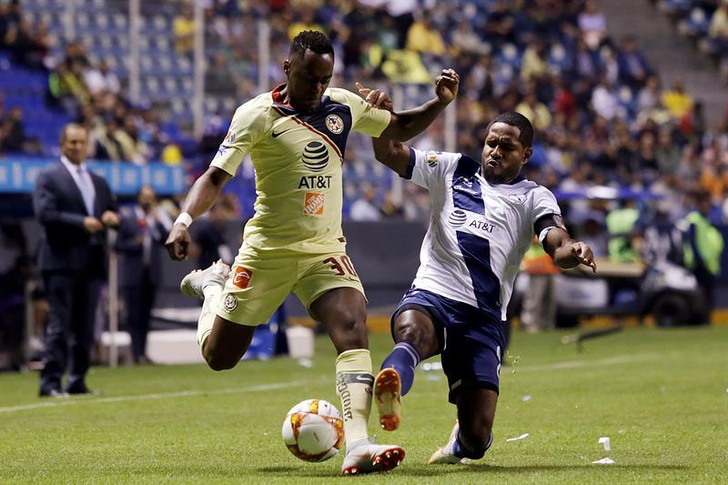 El ecuatoriano jugó los 90 minutos en la caída ante Monterrey
