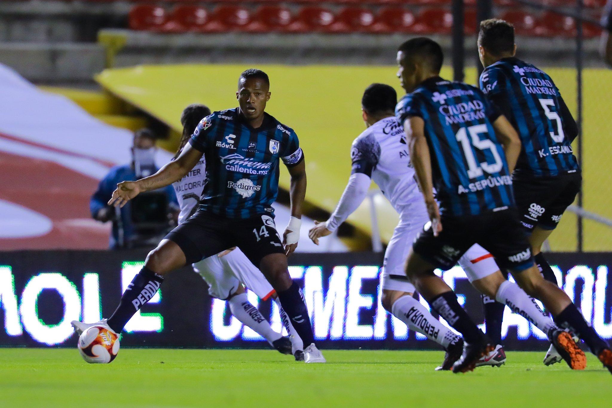 Querétaro superó a Atlas y sumó su primer triunfo en el Torneo Clausura. Jefferson Montero no fue tomado en cuenta