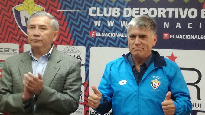 El nuevo estratega de El Nacional comentó el tema de refuerzos y la pretemporada, previo al arranque del campeonato 2019