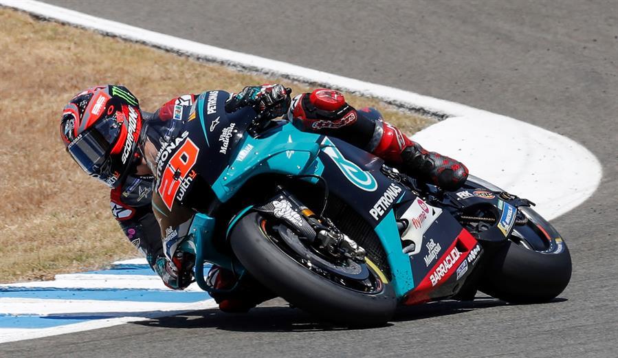 El francés está haciendo de las suyas en el inicio del MotoGP