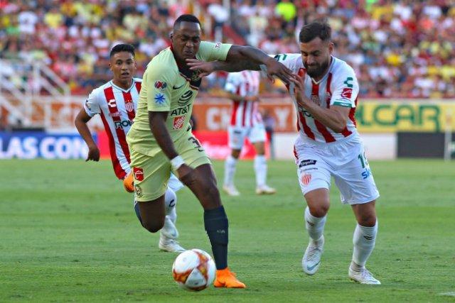 El ecuatoriano ingresó en la etapa complementaria en la victoria de las 'águilas'