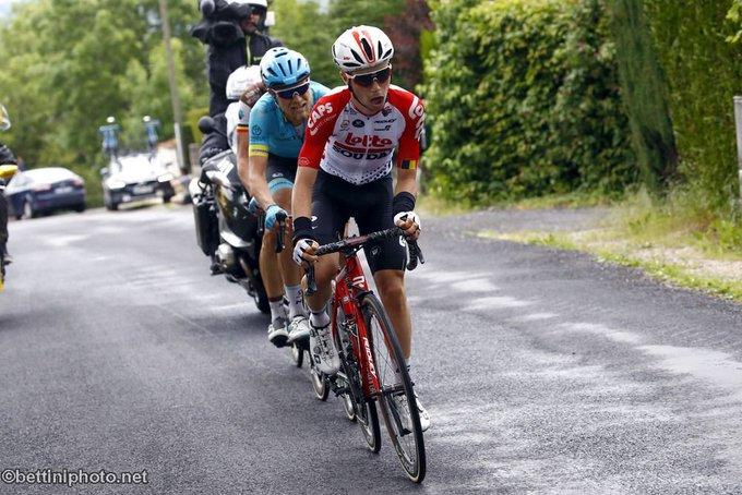 """""""Hemos perdido un gran talento del ciclismo belga"""", dijo el presidente de la Real Liga Ciclista del país, Tom Van Damme, al periódico francófono """"Le Soir"""""""