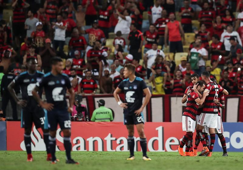 """El conjunto """"eléctrico"""" le dice adiós a la Copa Libertadores en el último partido de Alfredo Arias"""