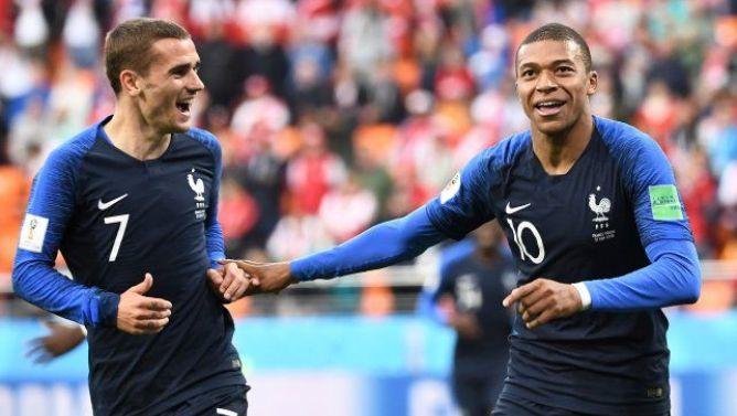 La victoria en el pasado Mundial ha propulsado al jugador del Atlético de Madrid y al del París Saint-Germain