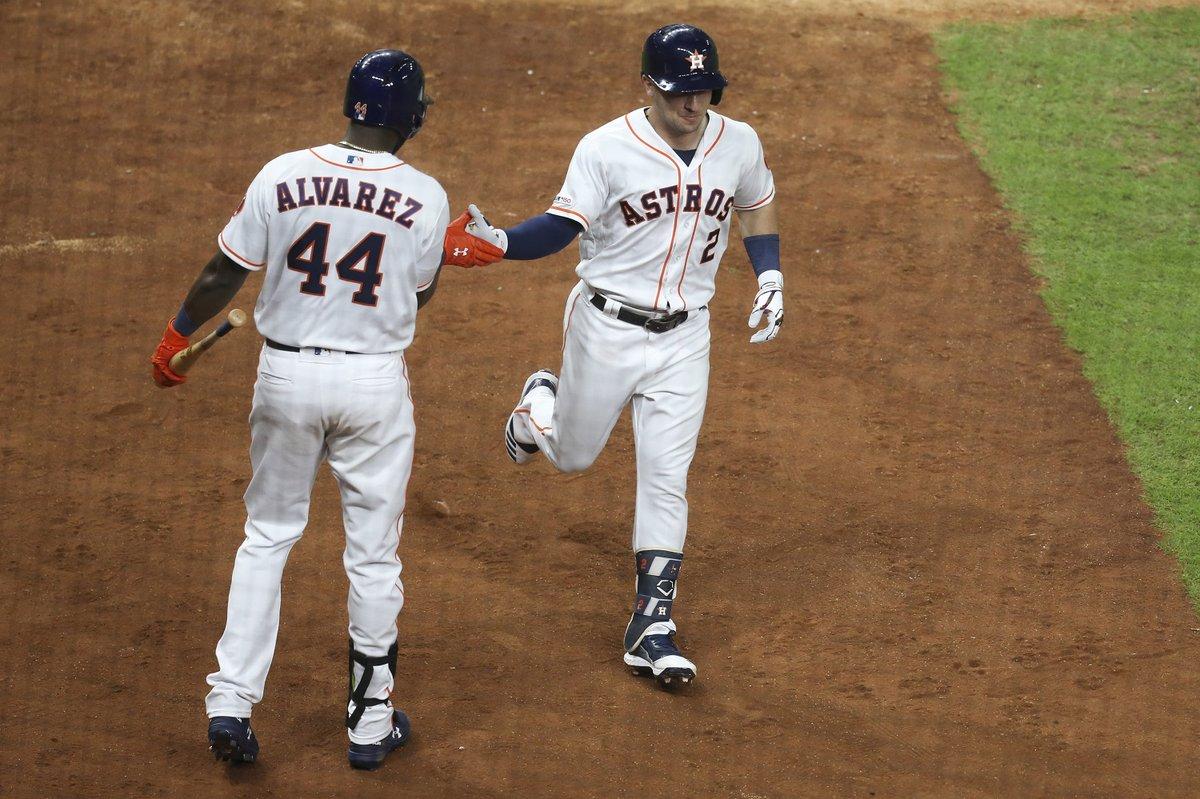 Alex Bregman y el antesalista cubano Yuli Gurriel pegaron sendos cuadrangulares con los líderes Astros, que superaron 4-2 a los Rockies de Colorado