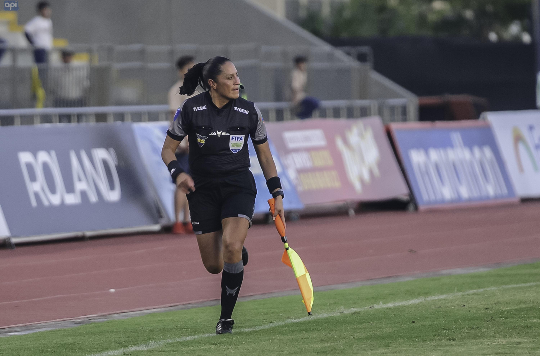 Mónica Amboya se refirió a su debut en la máxima categoría del fútbol ecuatoriano