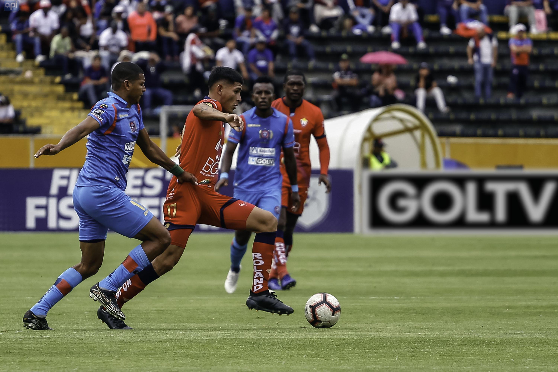 El Nacional y Olmedo empataron en el inicio de la jornada dominical